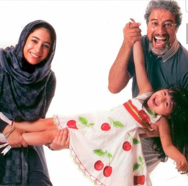 عکس بانمک علیرضا خمسه با خانواده اش