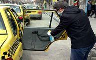 رانندگان تاکسیها داخل خودرو و دستگیرهها را ضدعفونی کنند
