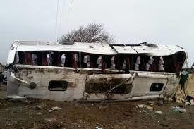 سقوط یک مینی بوس به دره مریوان/ اسامی کشته و مصدومان