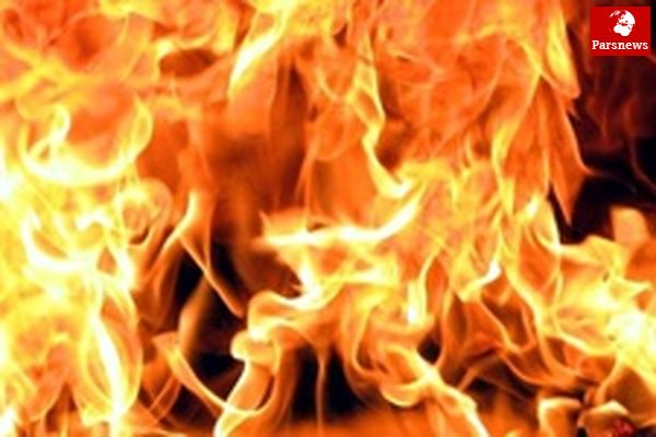 کولر آتشین در بام ساختمان + عکس