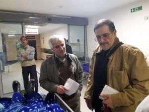 گزارش بهبودی دانشجویان حادثه دیده بیمارستان امام خمینی (ره)
