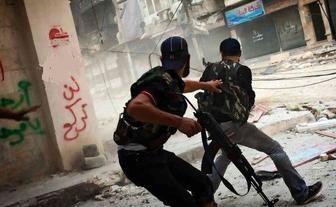 درگیری تروریست ها در «باب الهوی» سوریه