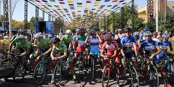 نفرات برتر مرحله چهارم تور دوچرخه سواری ایران - آذربایجان مشخص شد