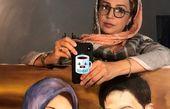 نقاشی خاص شبنم قلی خانی + عکس