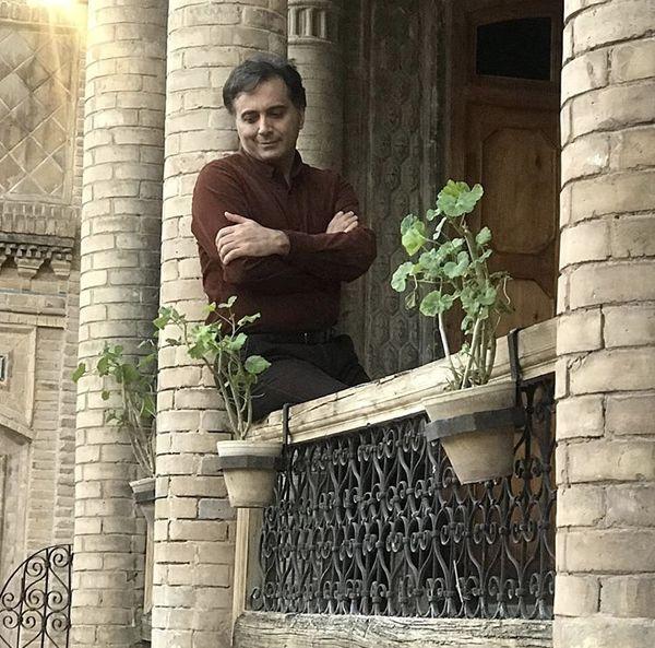 مجید اخشابی در امارتی قدیمی + عکس