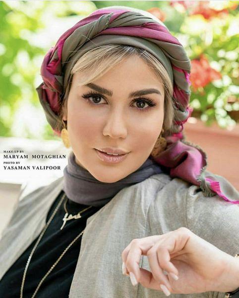 ظاهر جدید رز رضوی + عکس