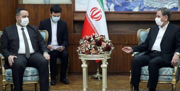 دیدار وزیر تجارت عراق با معاون اول رییس جمهور