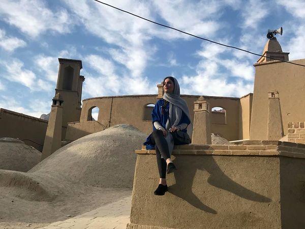 سفر بازیگر زن فوق لیسانسه ها به یزد+عکس