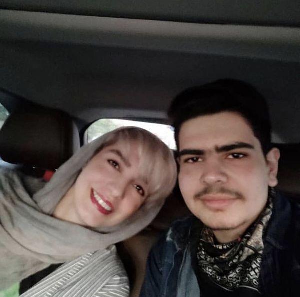 الیکا عبدالرزاقی و برادرزاده اش + عکس