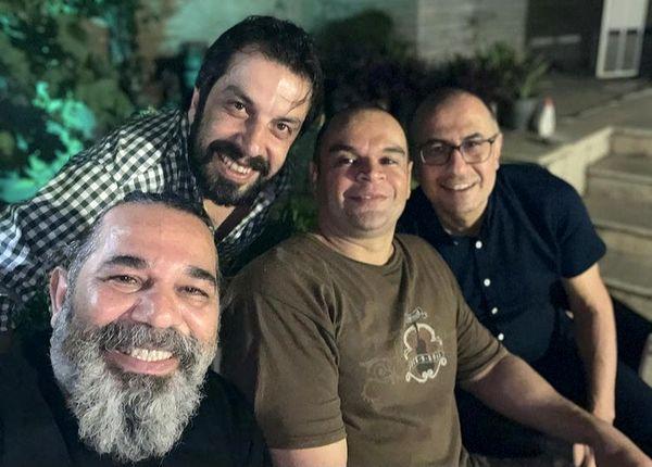 شب نشینی های بازیگران مشهور + عکس