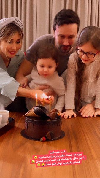 تولد شاهرخ استخری در کنار خانواده اش + عکس