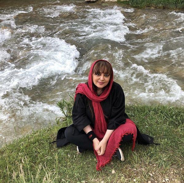 لیلا برخورداری در دل طبیعت + عکس