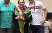 عکس سردار آزمون به همراه پدر و مادرش