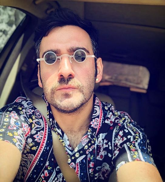عینک عجیب و غریب نیما شعبان نژاد + عکس