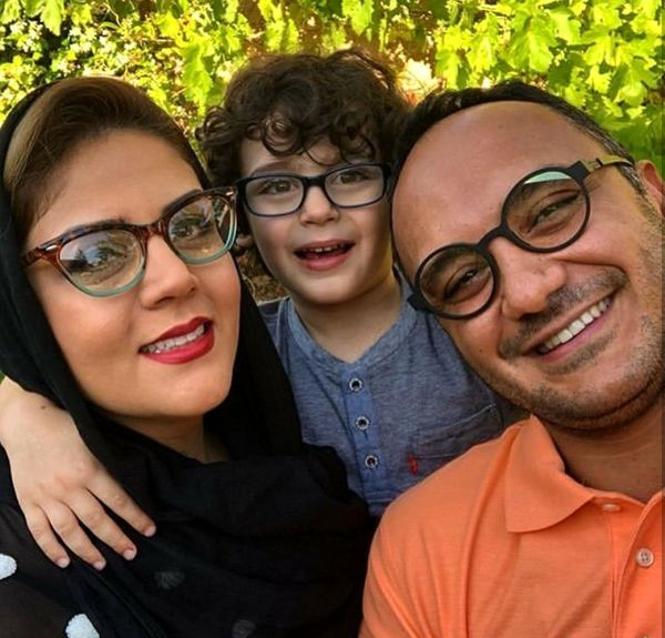 عکس خانوادگی مجری ممنوع الکار