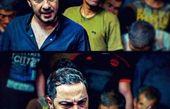 نوید محمدزاده با استایل معروفش+عکس