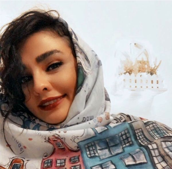 شال خاص سیما خضرآبادی + عکس
