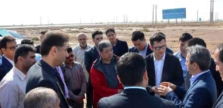کارشناسان چینی از منطقه ویژه شمال بوشهر دیدن کردند