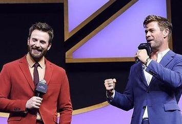 تیپ دو بازیگر مشهور هالیوود برای یک رقابت/عکس