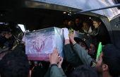 ورود پیکر مطهر ۴۳ شهید تازه تفحص شده به کشور