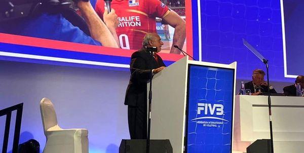 برگزاری نخستین روز نشست سالانه فدراسیون جهانی والیبال