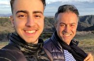 دانیال حکیمی و پسر خوشتیپش+عکس