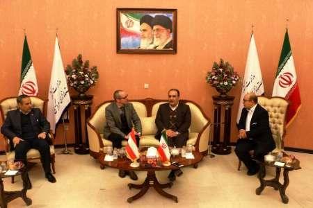 حفظ و افزایش روابط تجاری با ایران برنامه دولت اتریش است