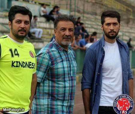 عبدالرضا اکبری و پسرانش + عکس