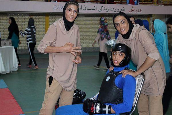 عکس خواهران ورزشکار منصوریان