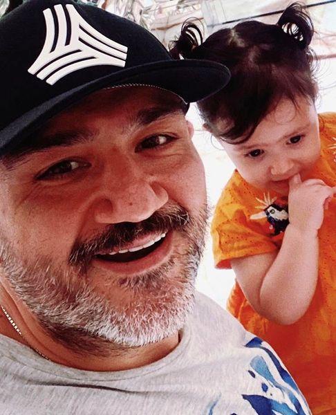 عکسجدید مهران غفوریان با دخترش هانا