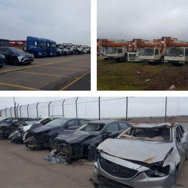 وضعیت نامناسب نگهداری از خودروهای خارجی در گمرک