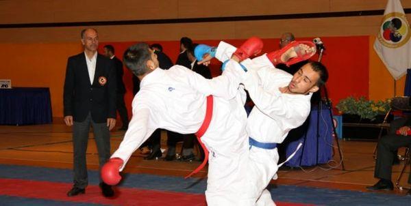 علینژاد, تیموری و عاشوری برای برنز لیگ جهانی کاراته چین میجنگند