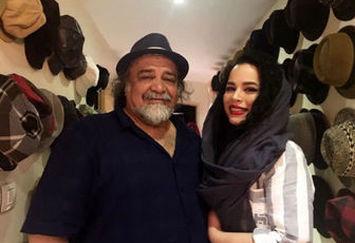 گالری گردی پدر و دختر مشهور سینمای ایران /عکس