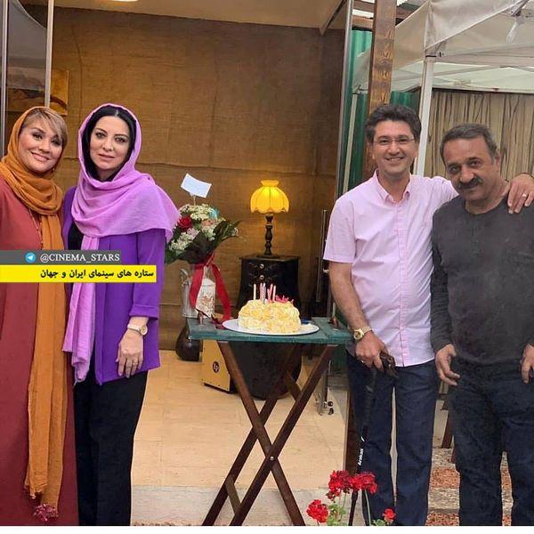 عکس تولد علی اوسیوند و امیرحسین مدرس با همسرانشان