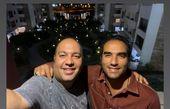علی اوجی و دوست صمیمی اش + عکس