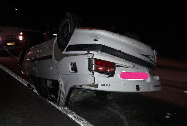 برخورد شتر با خودرو ۹ مجروح بر جای گذاشت