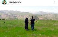 سوژه شدن عکس عاشقانه وزیر ارتباطات و همسرش