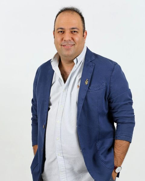 خستگی علی اوجی از جشن حافظ+عکس