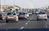 ترافیک نیمه سنگین در آزادراه قزوین – کرج/ تردد در محورهای هراز و چالوس روان است