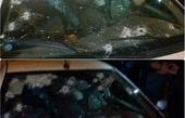 حمله به خودروی نیروی انتظامی در سربندر