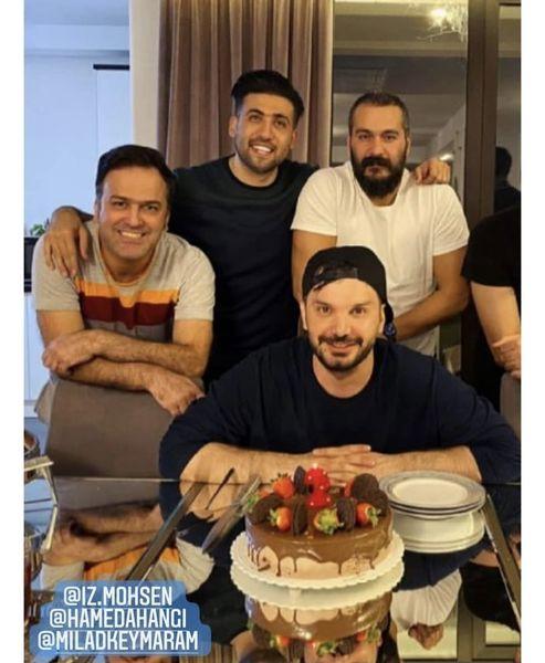 تولد دوستانه میلاد کی مرام + عکس