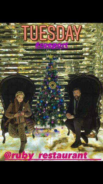 بهاره رهنما و همسرش در رستوران + عکس