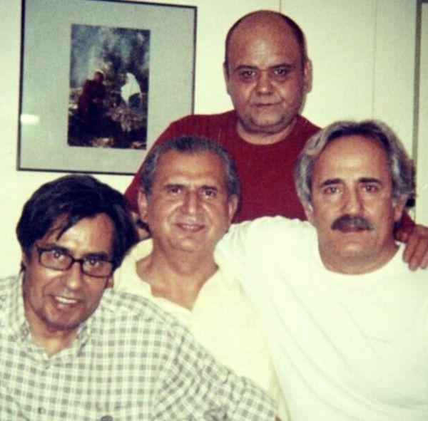 مجید مظفری درجمع دوستان قدیمی اش + عکس