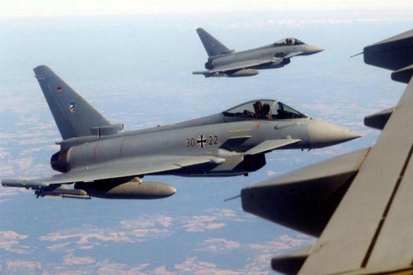 رزمایش هوایی ۳ کشور اروپایی علیه روسیه