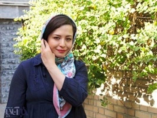 تصویری از مهراوه شریفینیا در کودکی