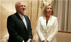ظریف و موگرینی در کویت به گفتگو نشستند