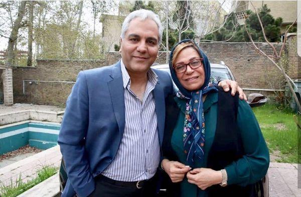 عکس جنجالی مهران مدیری با گوهر خیراندیش