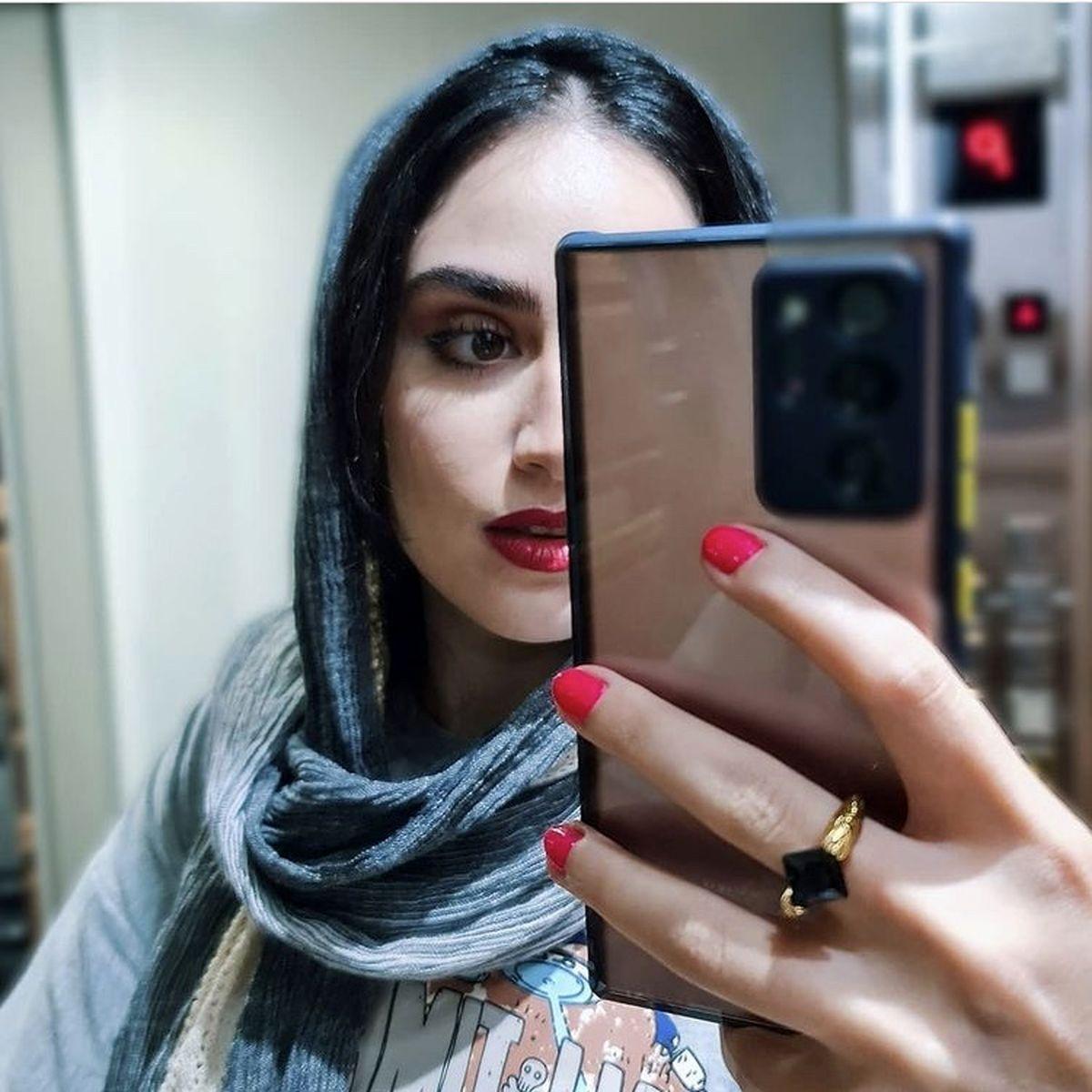 هانیه غلامی با تیپ جدید + عکس