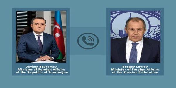 جزئیات گفتگوی وزیران خارجه روسیه و جمهوری آذربایجان