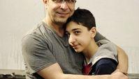 امیر غفارمنش و پسر بزرگش + عکس